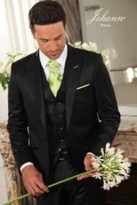Costume de mariage noir
