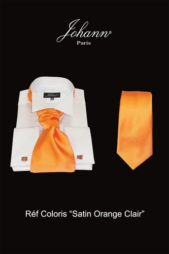 ascot-lavalliere-cravate-orange-clair